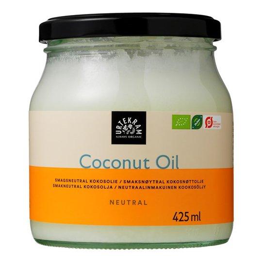 Urtekram Food Ekologisk Kokosolja Smakneutral, 425 ml