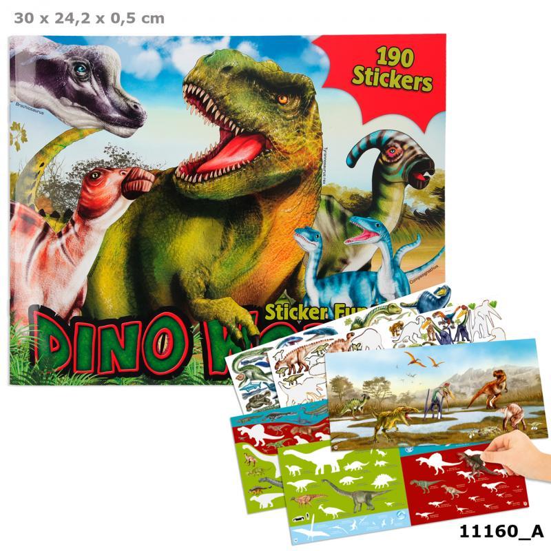 Create Your - Dino Stickerworld (411160)