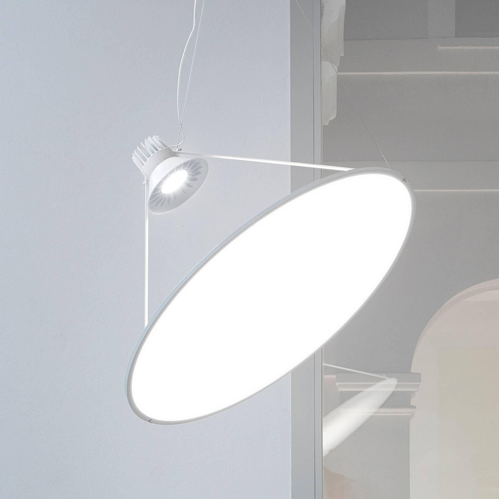 Luceplan Amisol -riippuvalaisin 75cm valkoinen