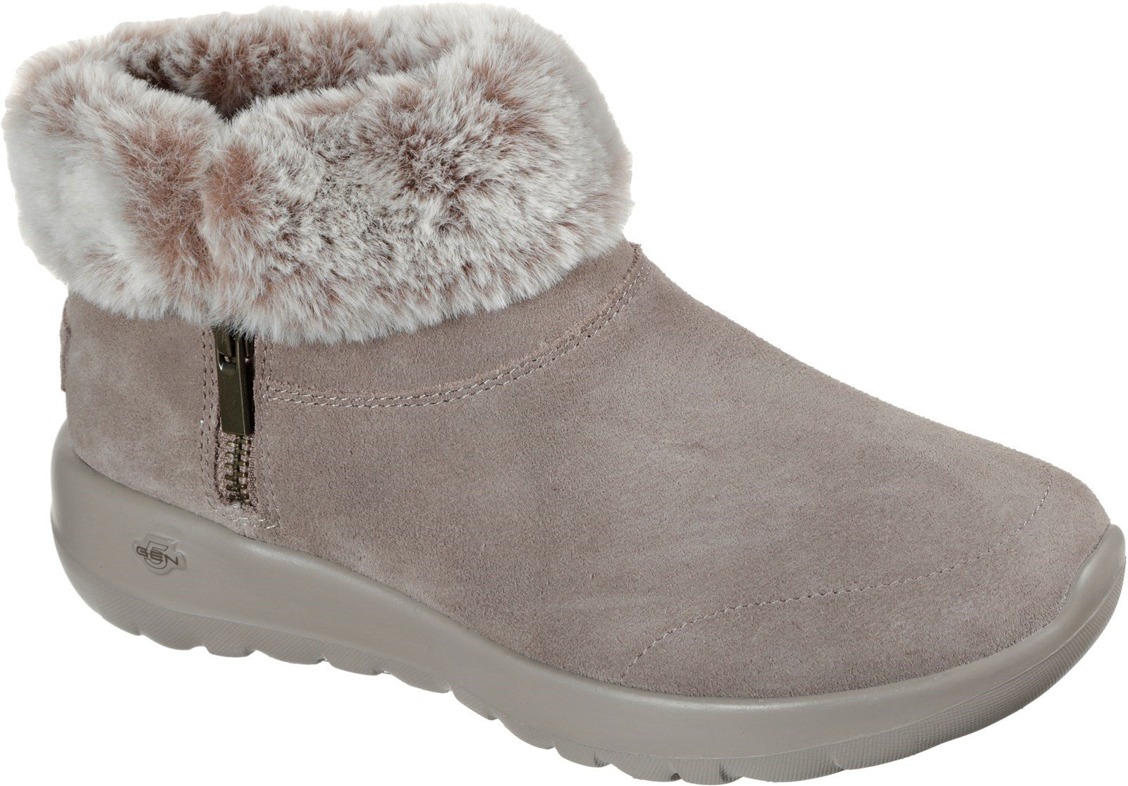 Skechers Women's On-The-Go Joy Savvy Ankle Boot Various Colours 31065 - Dark Taupe 3