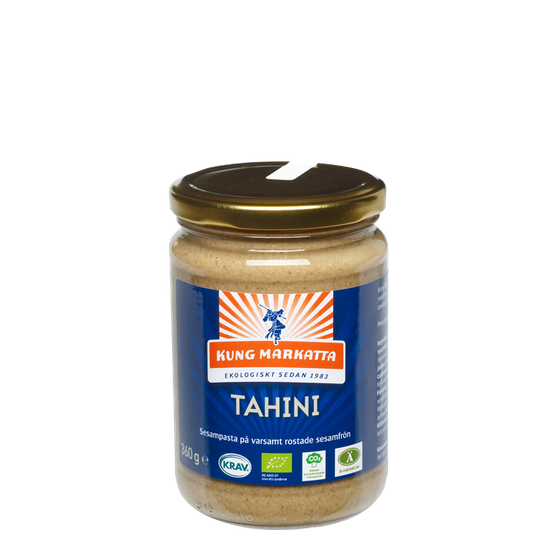 Tahini utan salt Luomu, 360 g