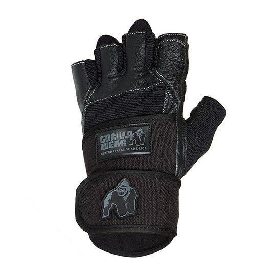 Dallas Wrist Wrap Gloves, black