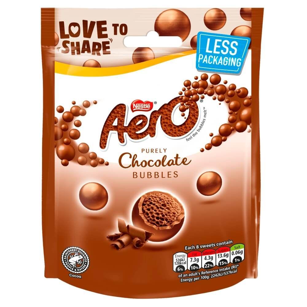 Aero Bubbles Milk Chocolate Bag 102g