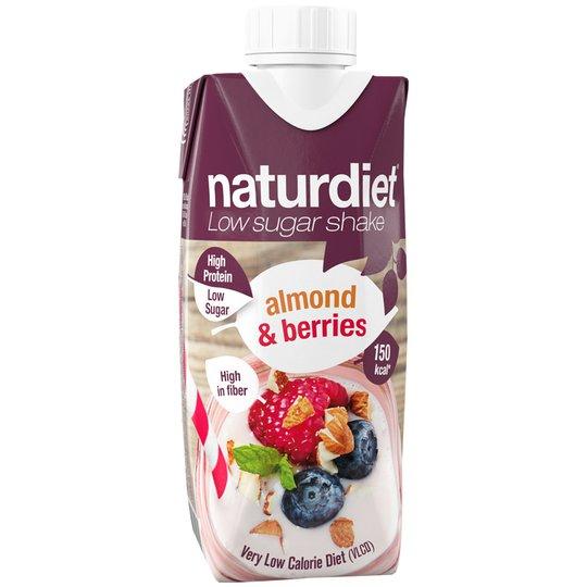 Måltidsersättningsshake Berries & Almond - 38% rabatt