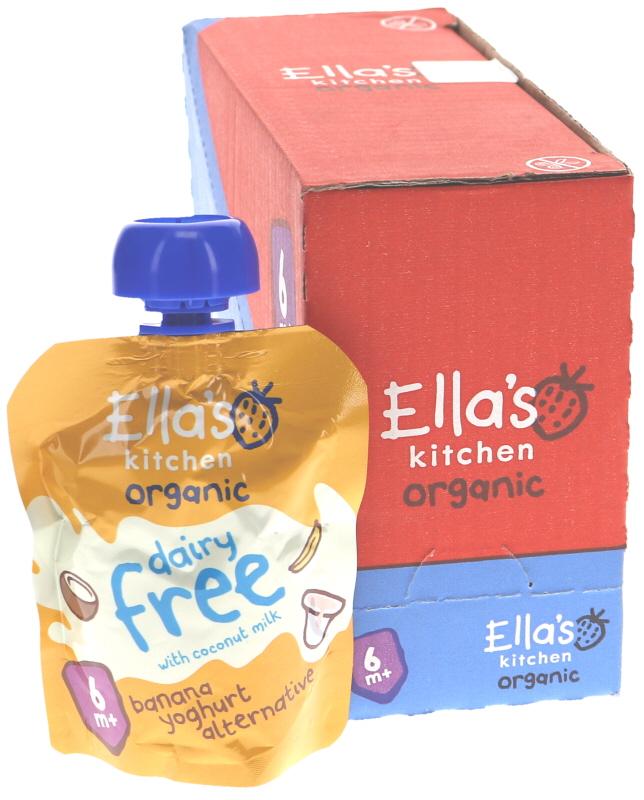 Eko Yoghurt Banan 6-pack - 27% rabatt