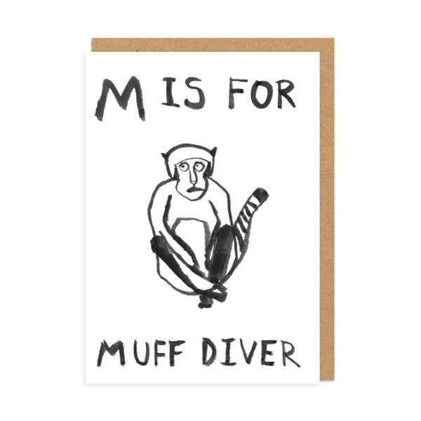M is for Greeting Card