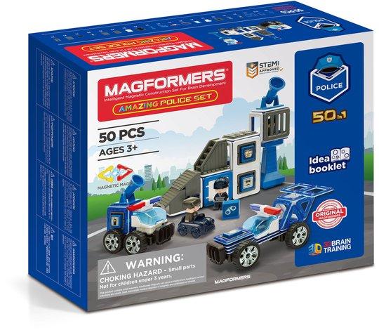 Magformers Byggesett Politi 50 deler