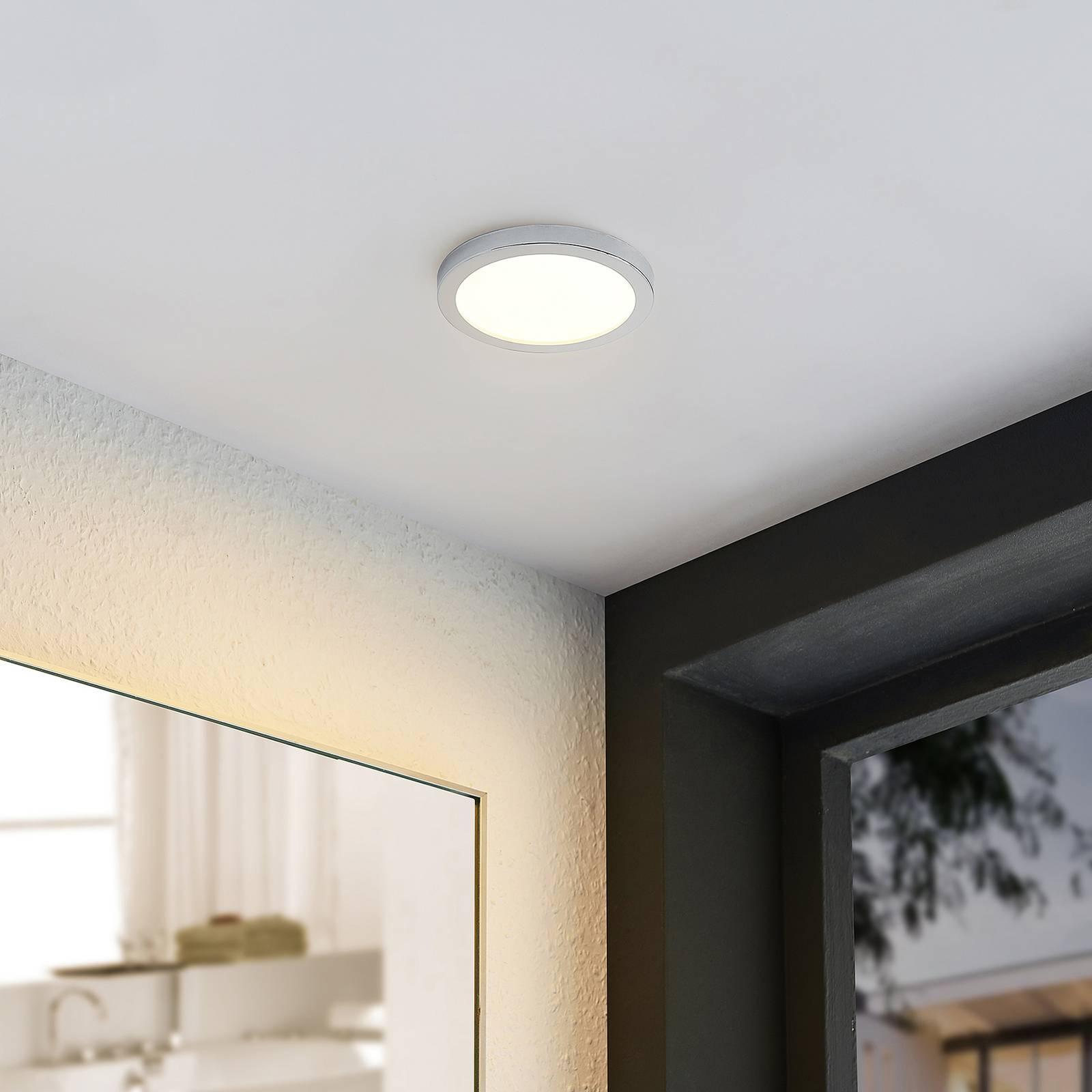 Lindby Skrolla -LED-uppovalaisin, IP44, 1 kpl