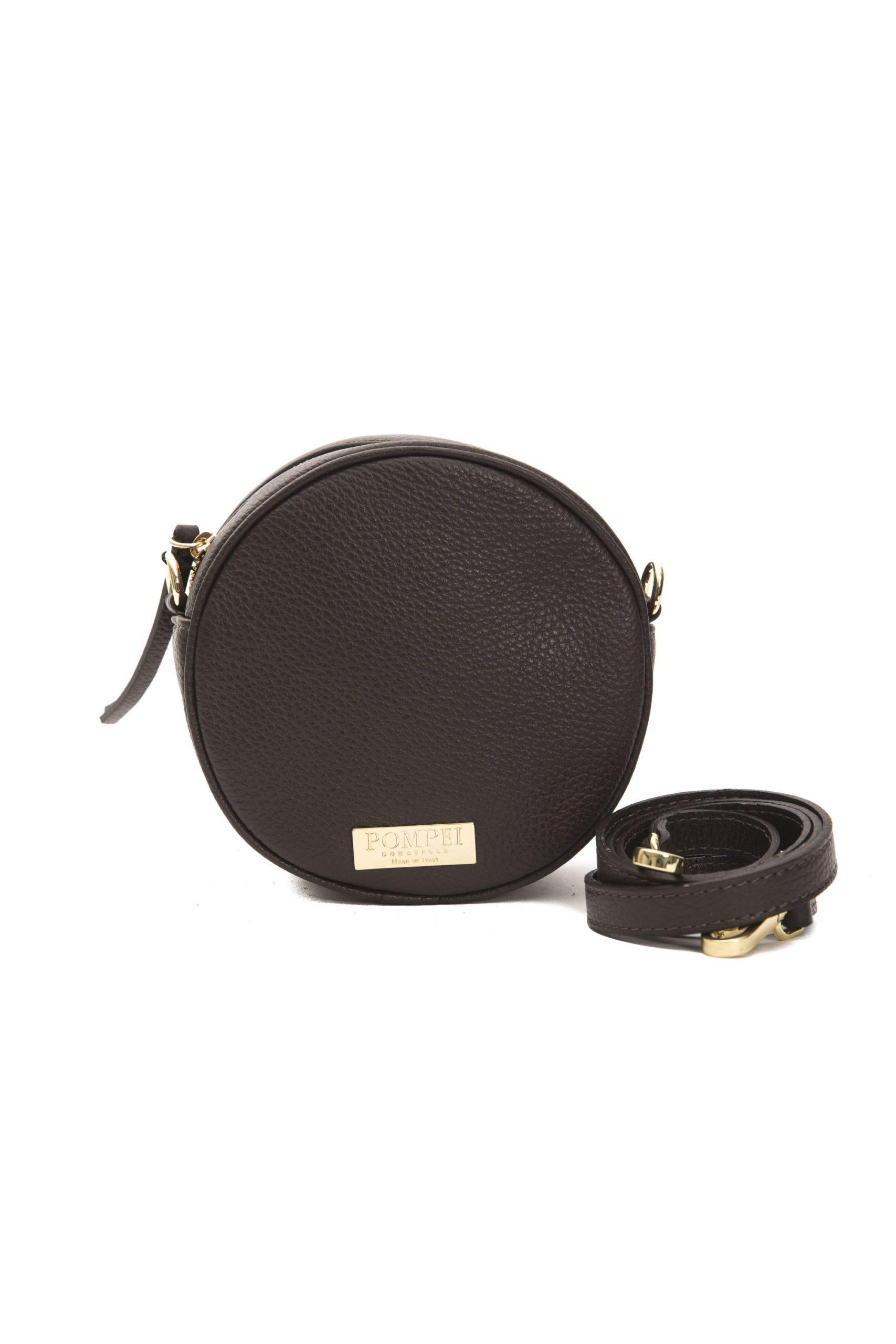 Pompei Donatella Women's Cioccolato Crossbody Bag Brown PO1004943