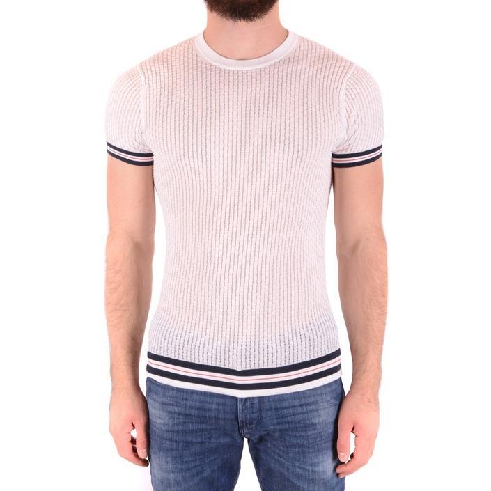 Daniele Alessandrini Men's T-Shirt White 165250 - white 46