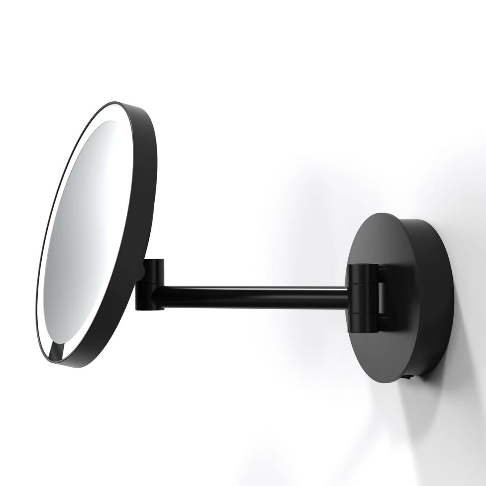 Decor Walther Just Look WR LED-seinäpeili musta