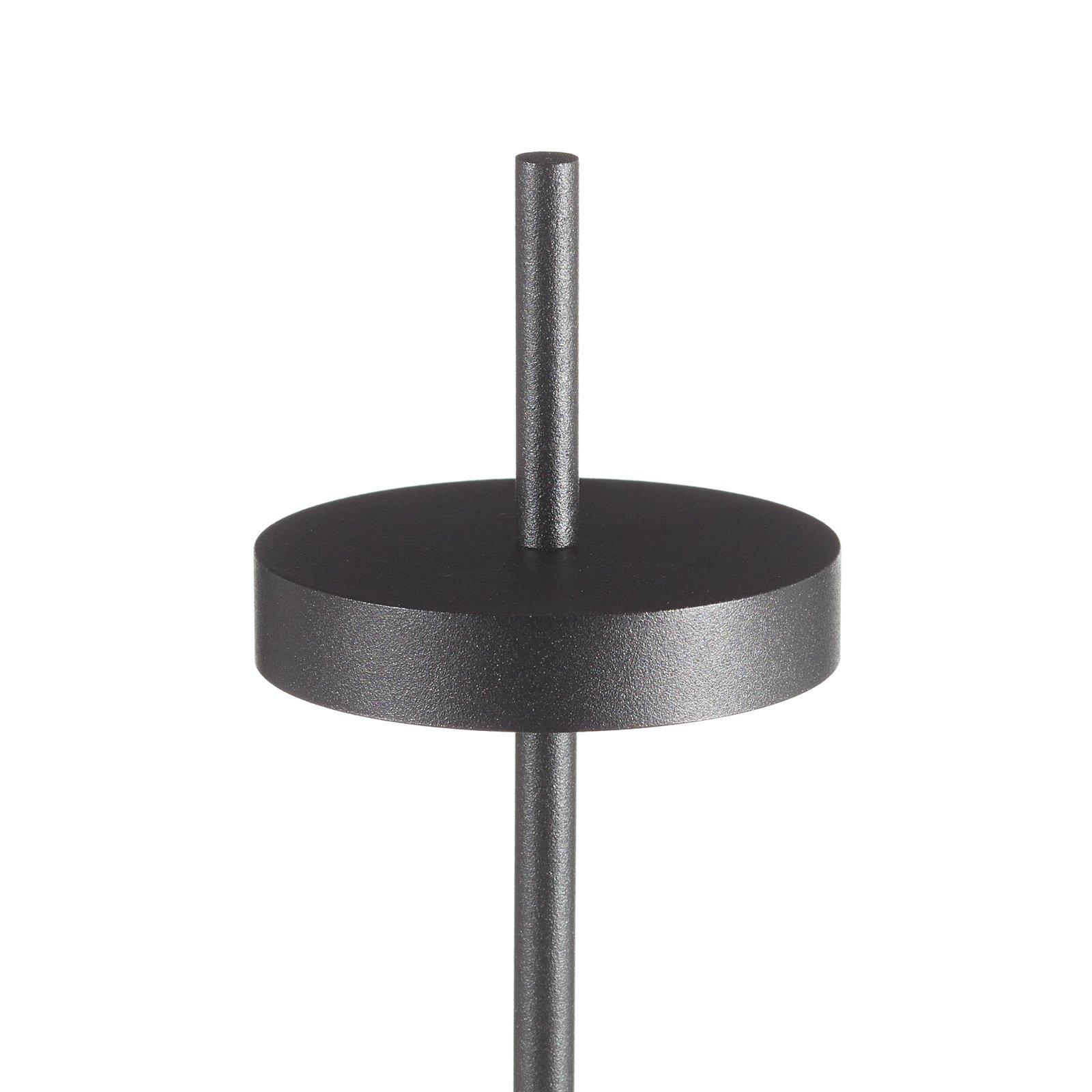 LOUM Scave LED-bordlampe sensor-dim fot hvit