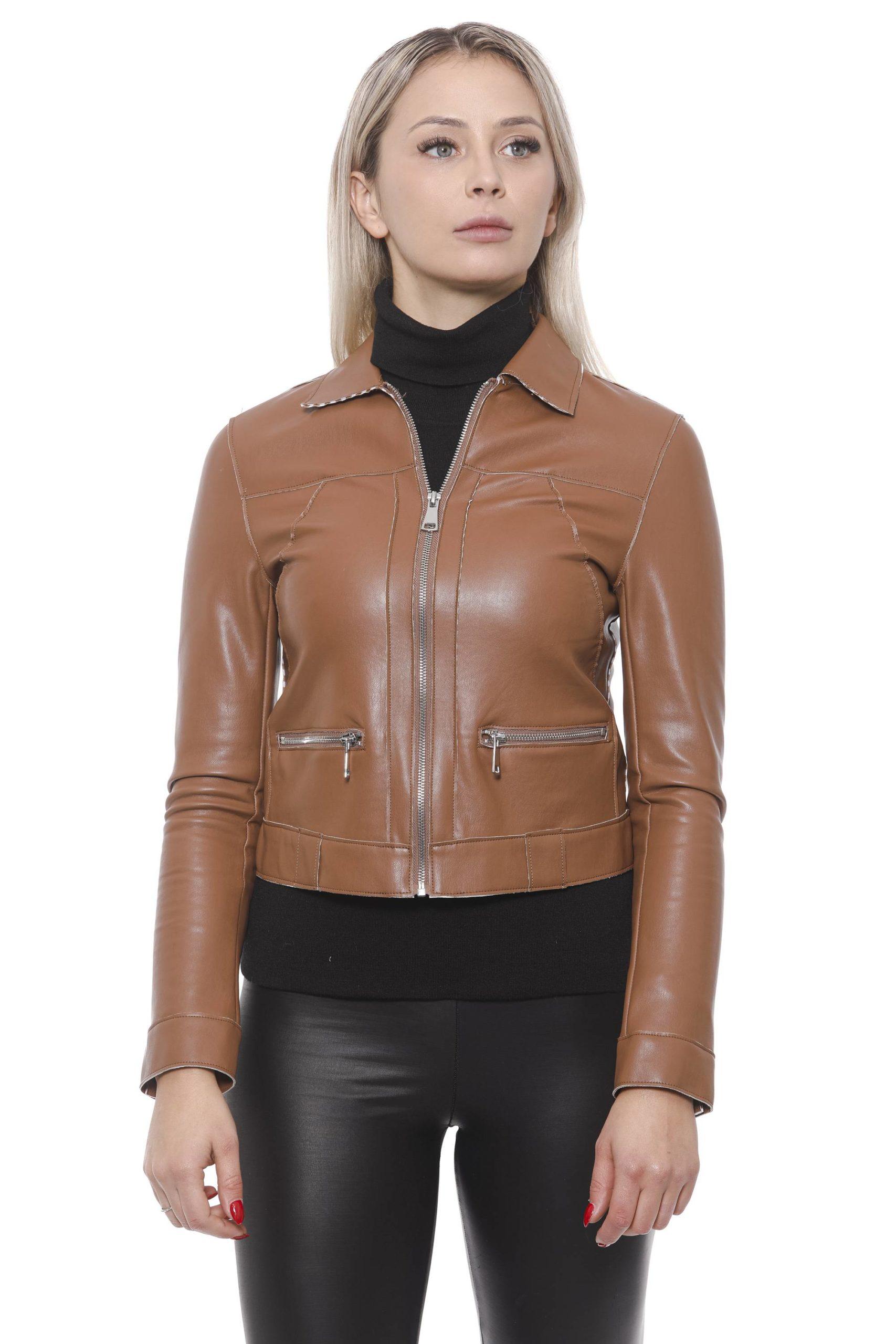 19V69 Italia Women's Marrone Jacket 191388462 - IT42 | S
