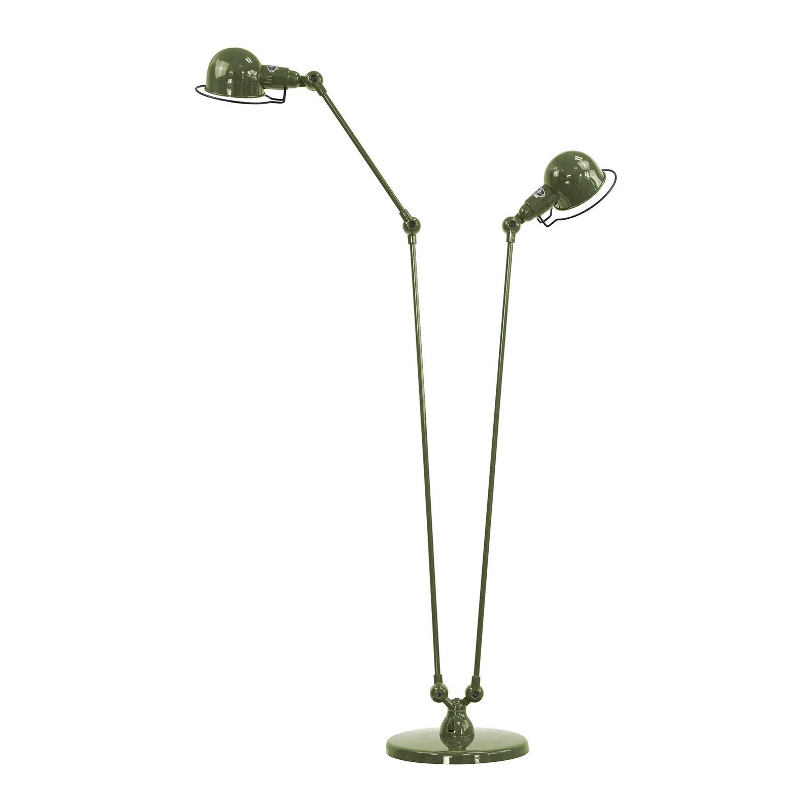 Jieldé Signal SI8380 -lattiavalo 2-lamp. vihreä