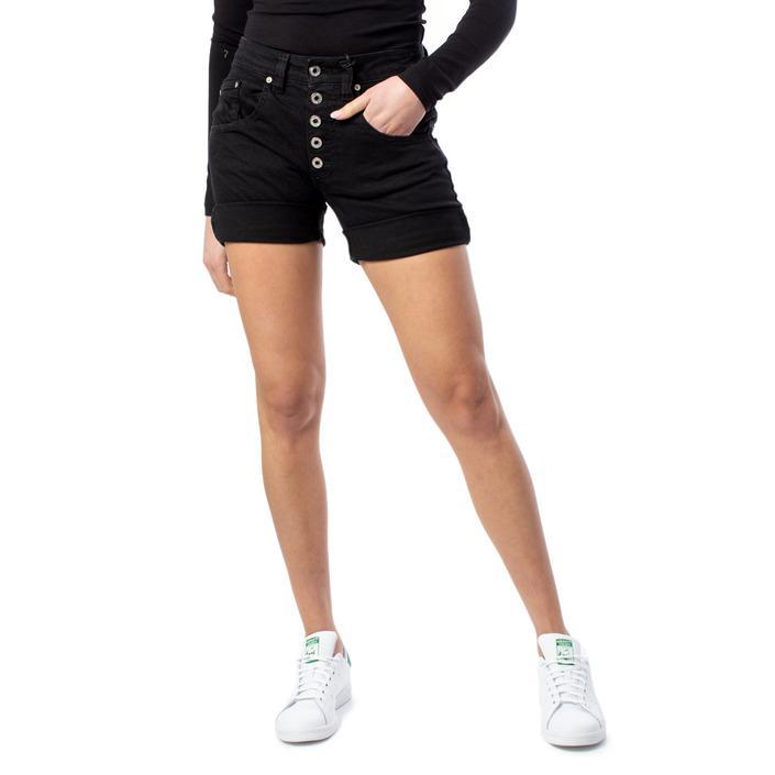 Please Women's Short Black 174002 - black XS