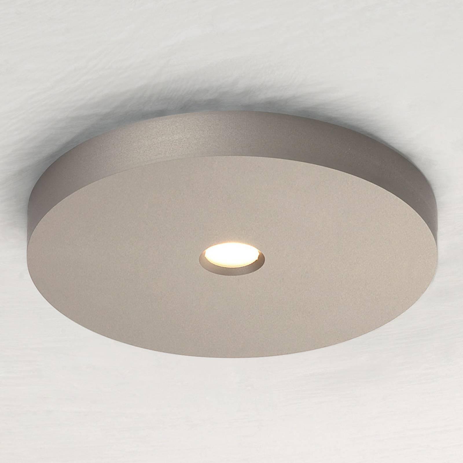 Bopp Close LED-takspot, taupe