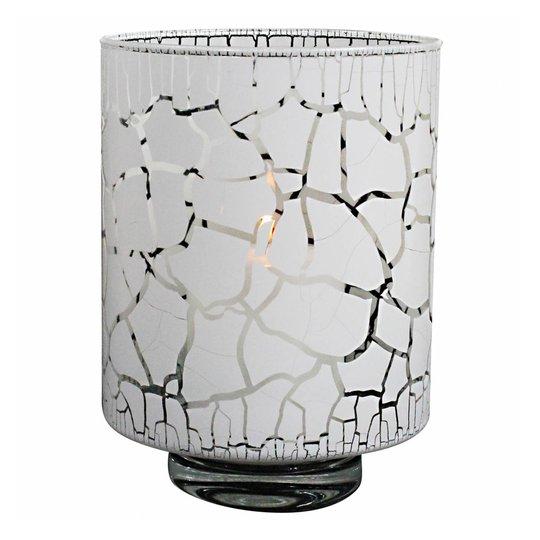 Nybro Crystal - Desert Lykta/Vas 21 cm Vit
