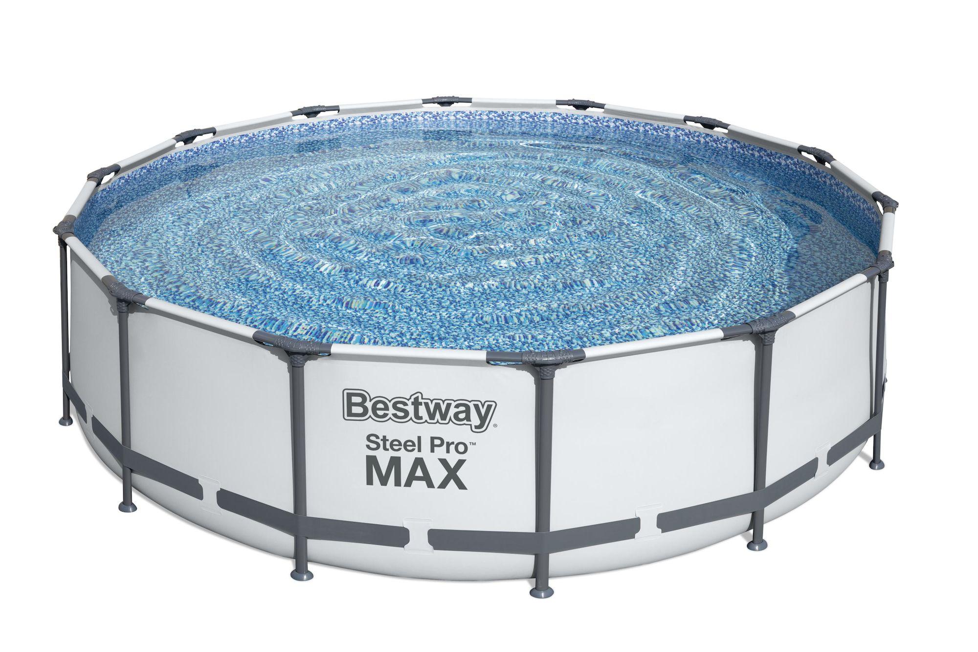 Bestway Steel Pro MAX Pool m. Tillbehör 4.27m x 1.07m