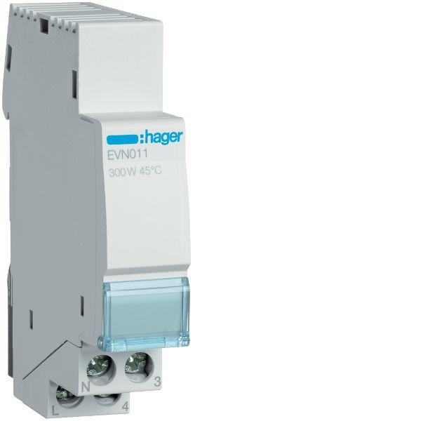 Hager EVN011 Himmennin 230V, 50-60 Hz, IP20 300 W, 17.5 mm
