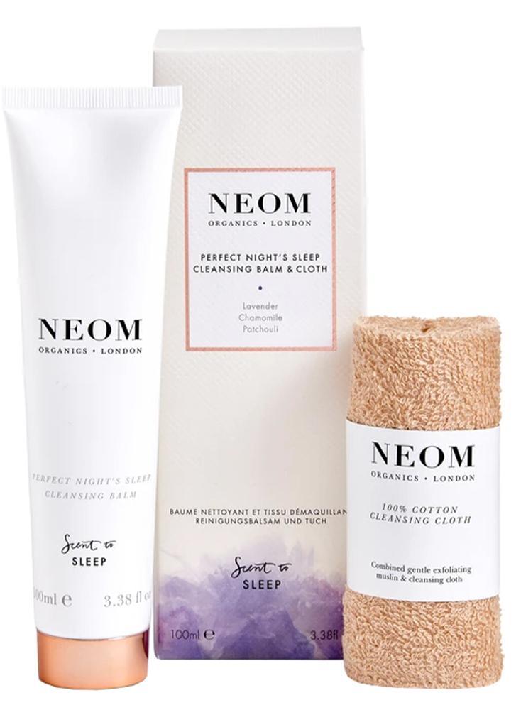 Neom Perfect Night Sleep Cleansing Balm & Cloth