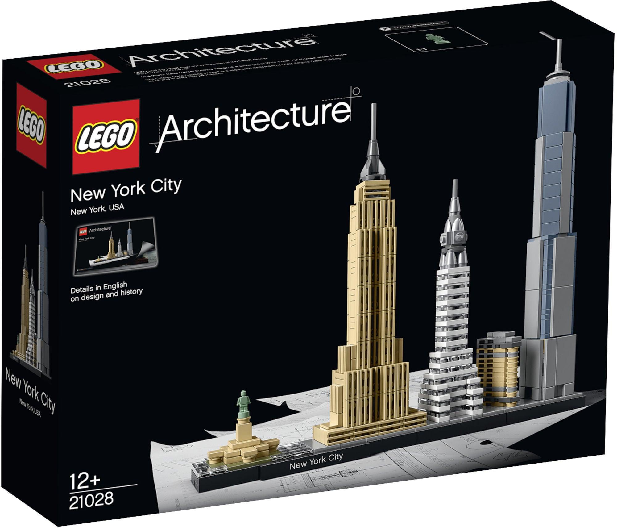 LEGO Architecture 21028 New York City