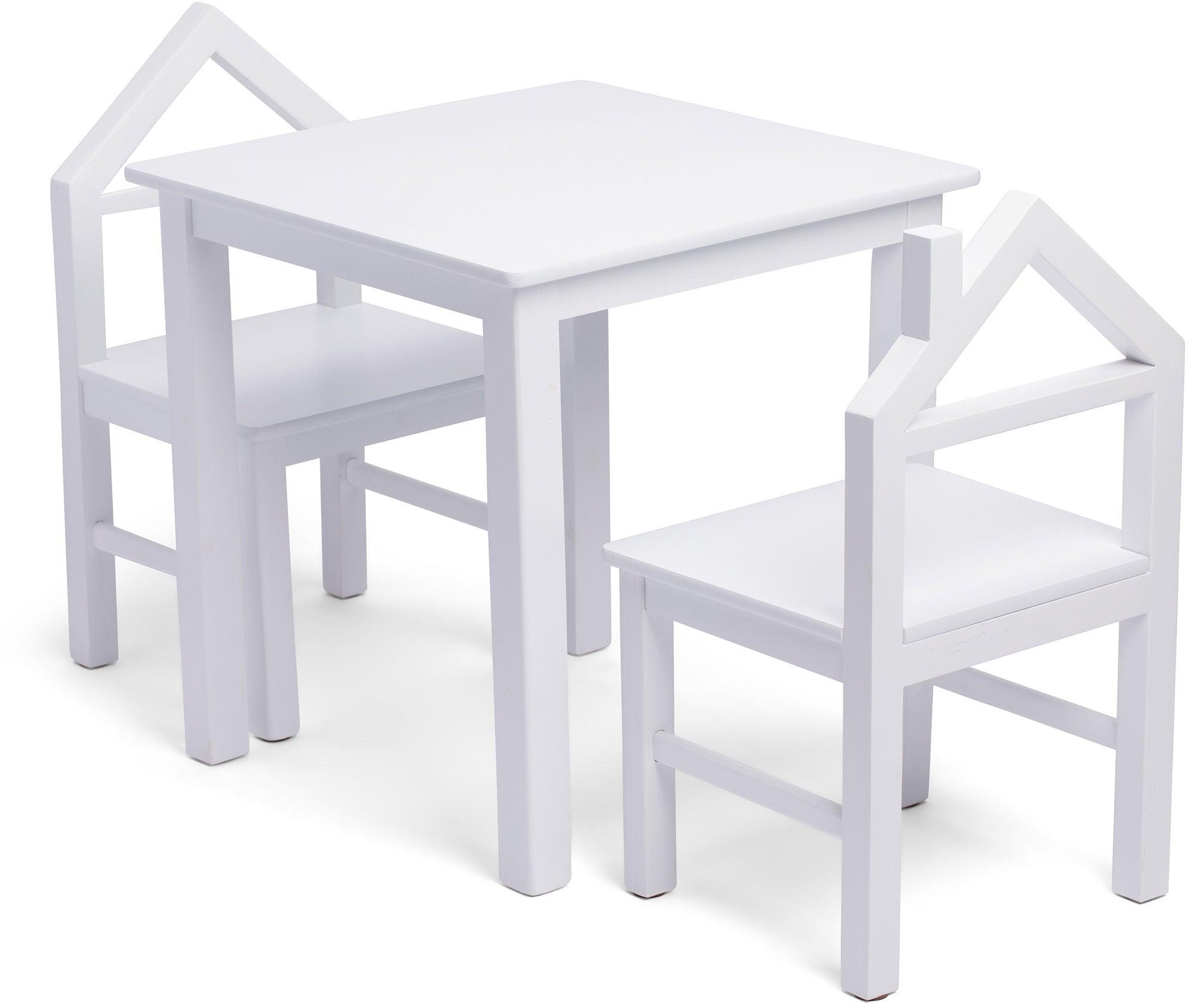 JLY House Pöytä + Tuolit, Valkoinen