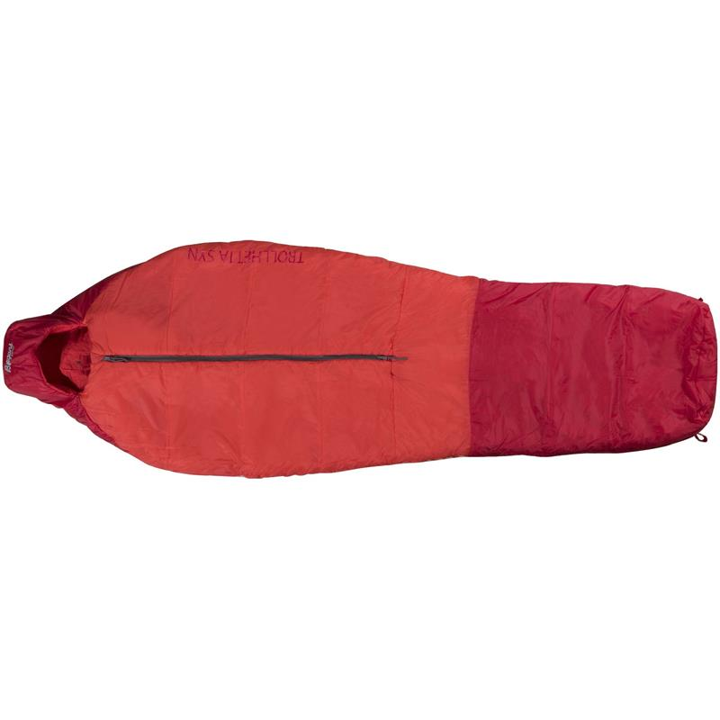 Bergans Trollhetta Synthetic 800 195 cm Lite pakkevolum og høy isolasjonsevne