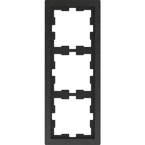 Schneider Electric MTN4030-6547 Kombinasjonsramme 3-roms, stein, skifer