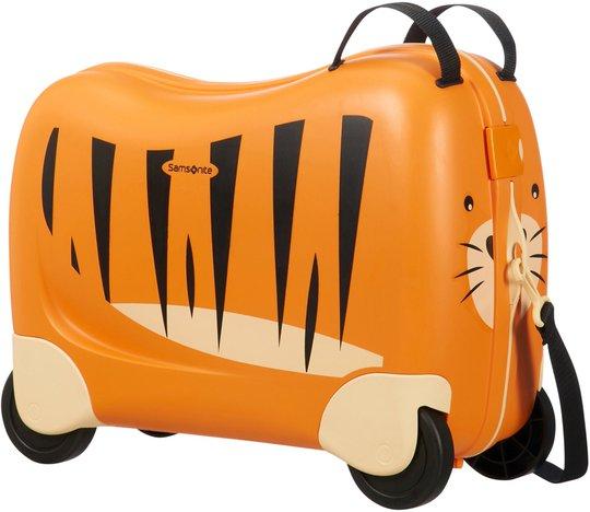 Samsonite Dreamrider Koffert Tiger Toby, Oransje