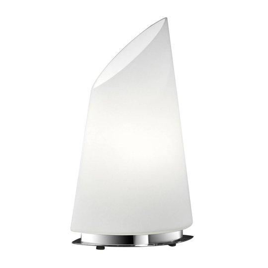 BANKAMP Sail bordlampe av glass, høyde 42cm, dim