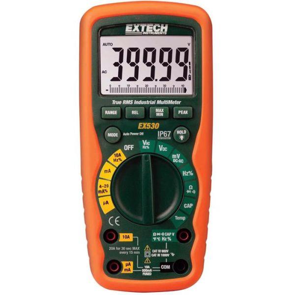 Extech EX530 Digitalt multimeter