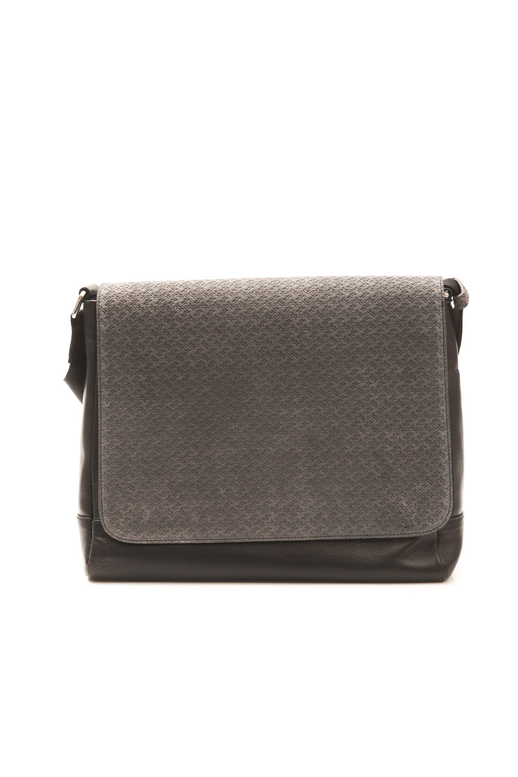 Billionaire Italian Couture Men's Messenger Bag Black BLC5040664_NEROGRIGIO