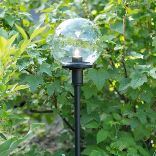 Garden 24 LED-veilampe Sphere med kuleskjerm