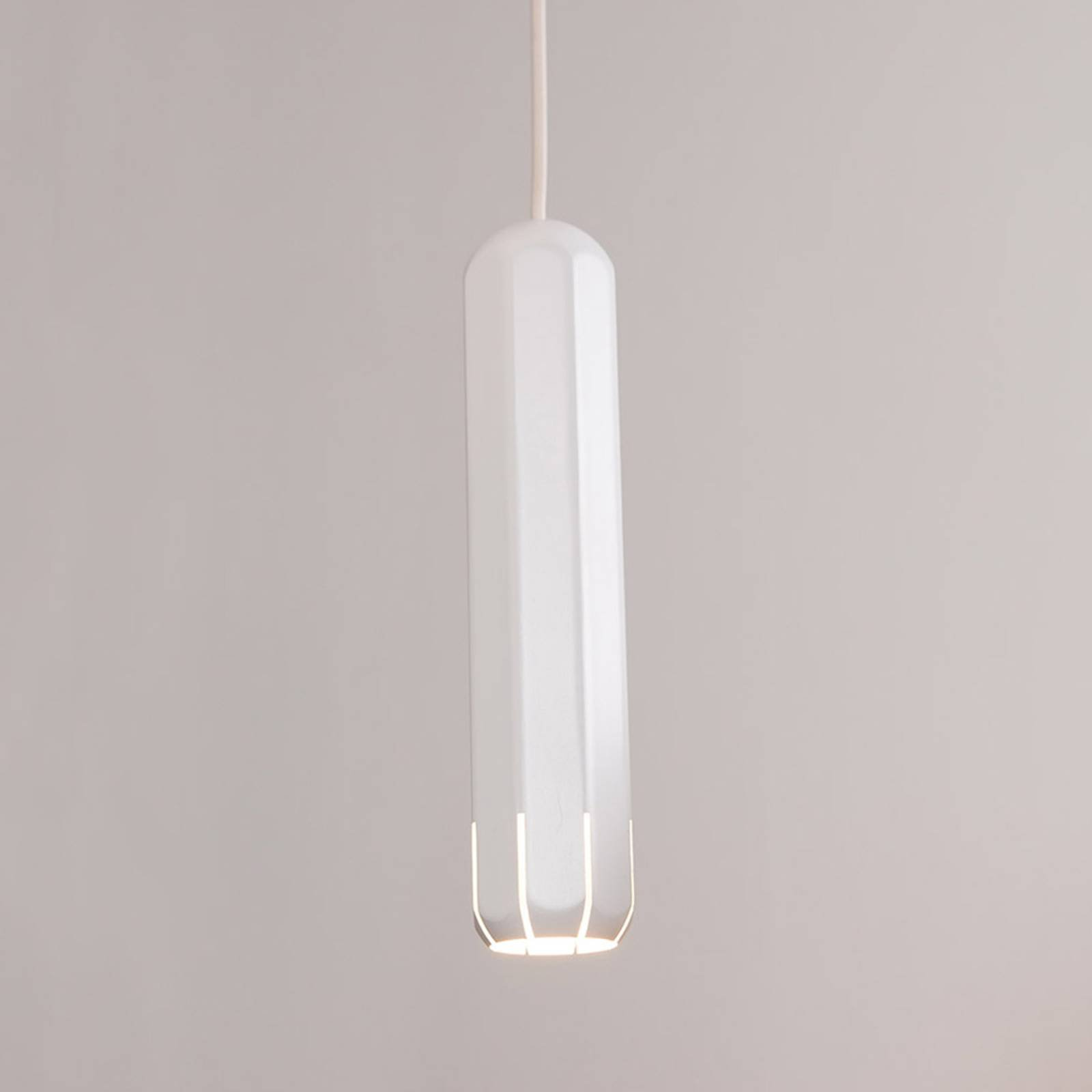 Innermost Brixton Spot 20 LED-hengelampe, hvit