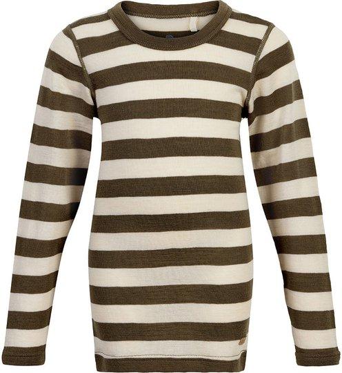 CeLaVi Langermet T-Shirt, Military Olive, 100