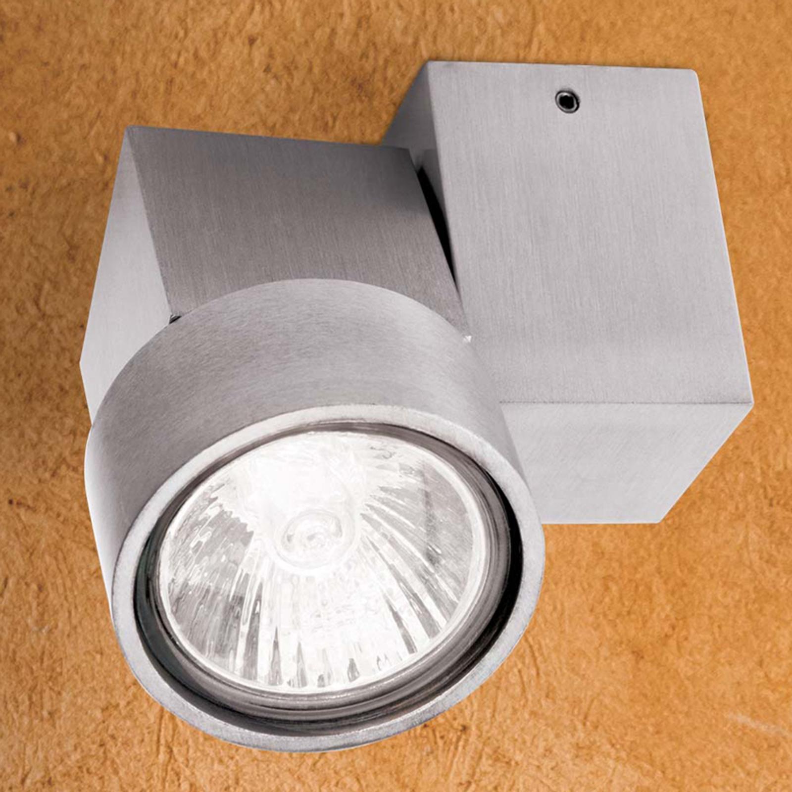 Yksilamp. Zarina-halogeenikohdevalaisin alumiini