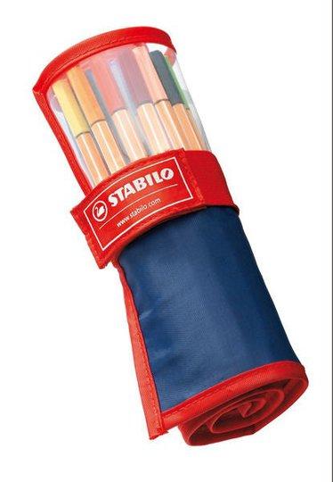 STABILO Fineliner 25-pack I Fodral