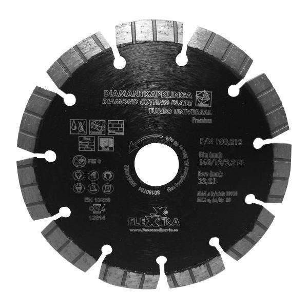 Flexxtra 100213 Timanttiterä 140 mm