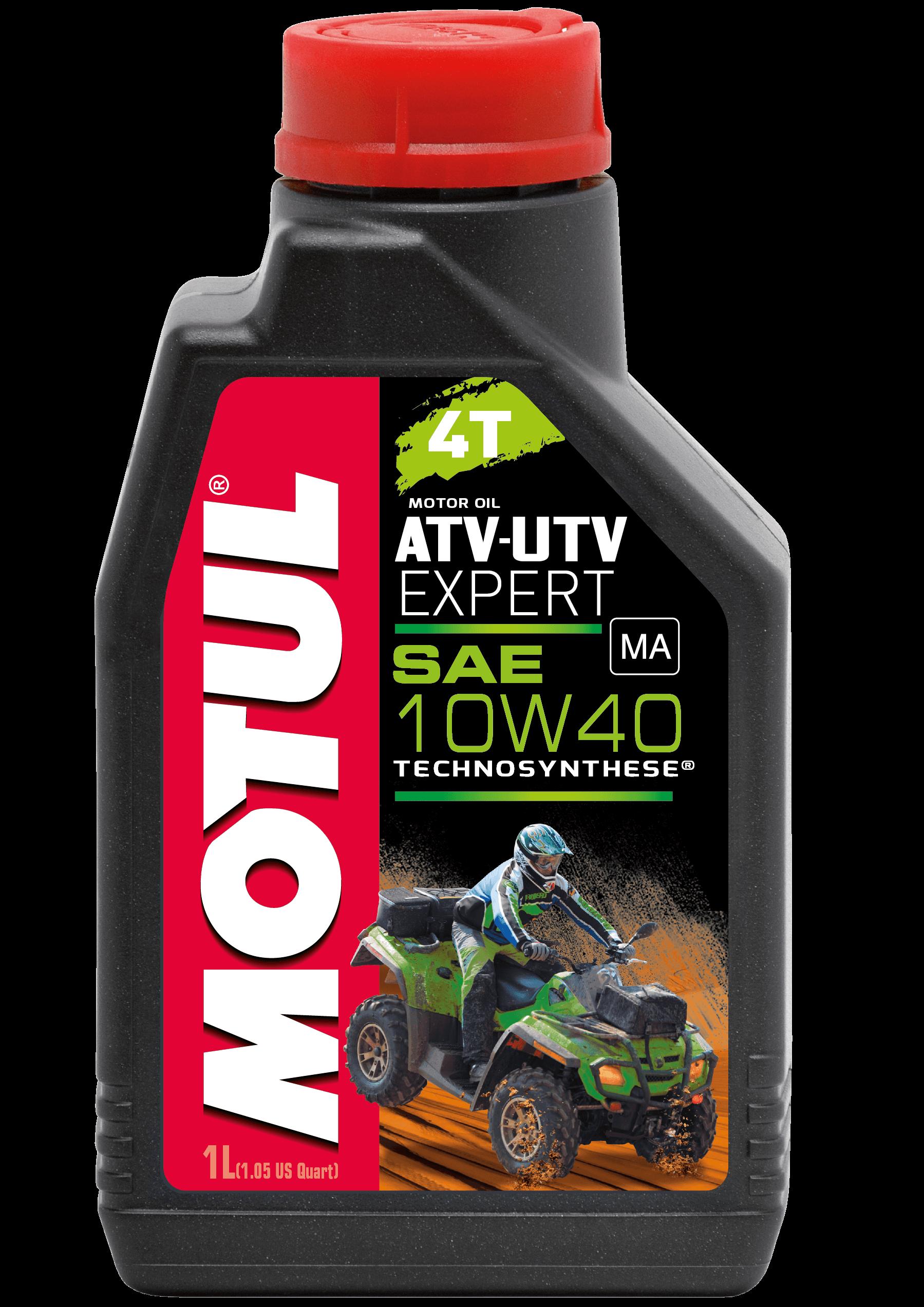 Moottoriöljy MOTUL ATV-UTV EXPERT 4T 10W40 1L