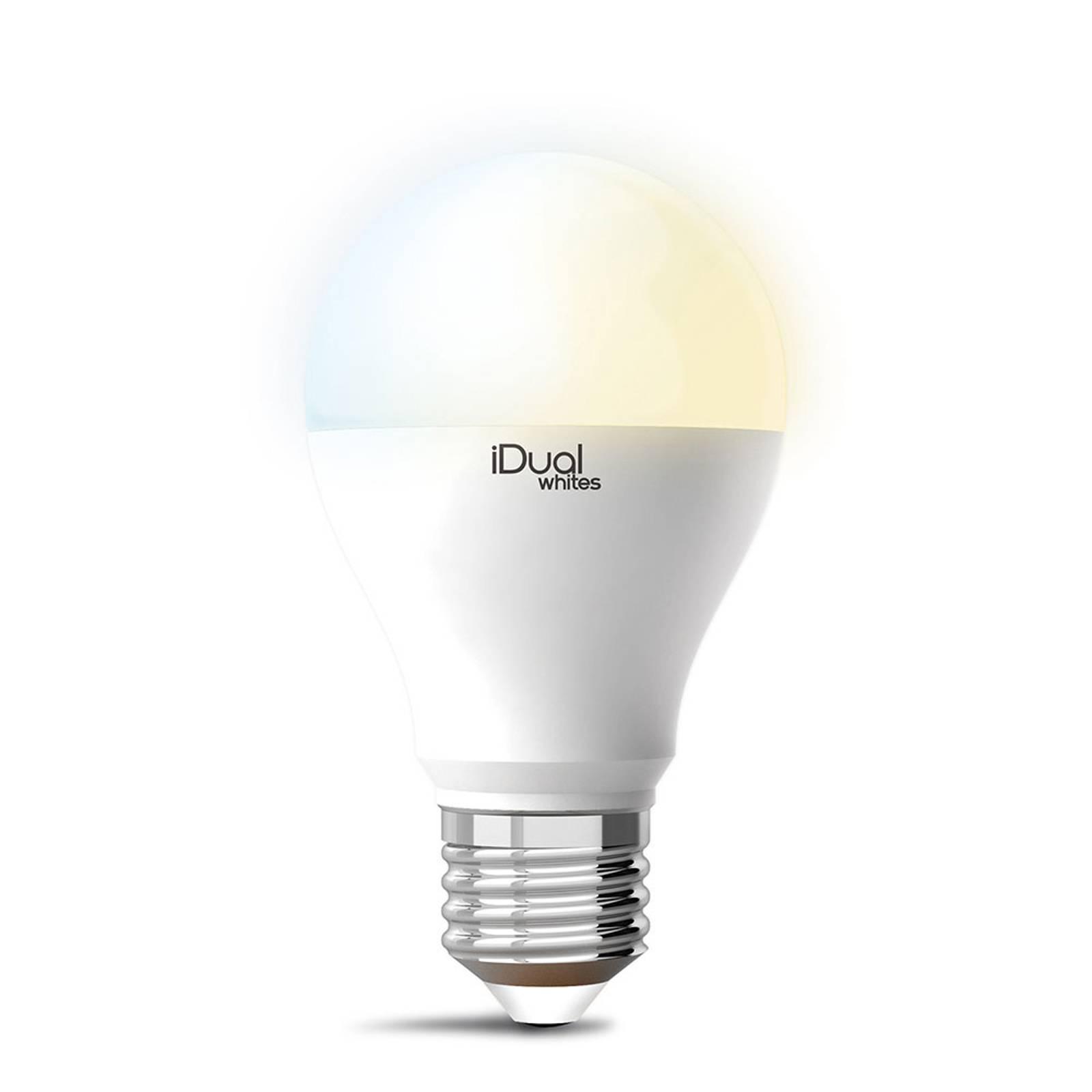 iDual Whites -LED-lamppu E27 A60 10W tunable white