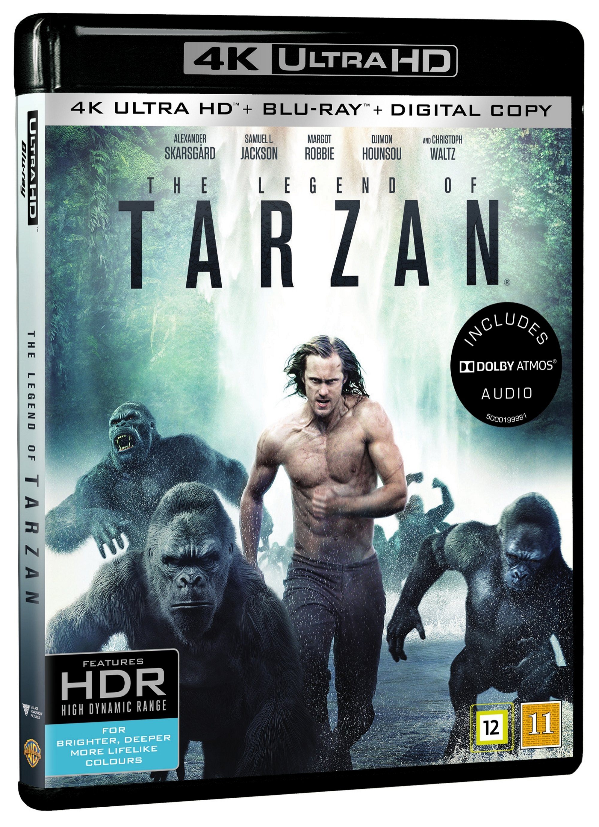 The Legend Of Tarzan (4K Blu-Ray)