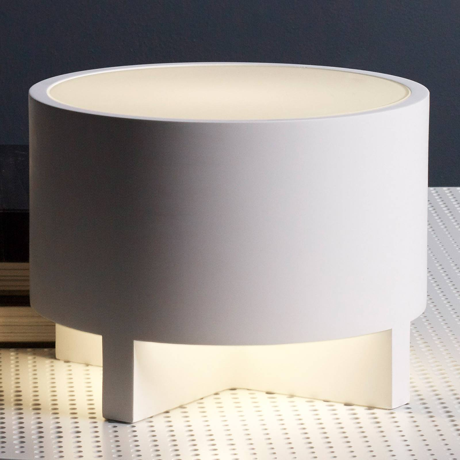 Astro Martello -pöytävalaisin, Ø 24 cm