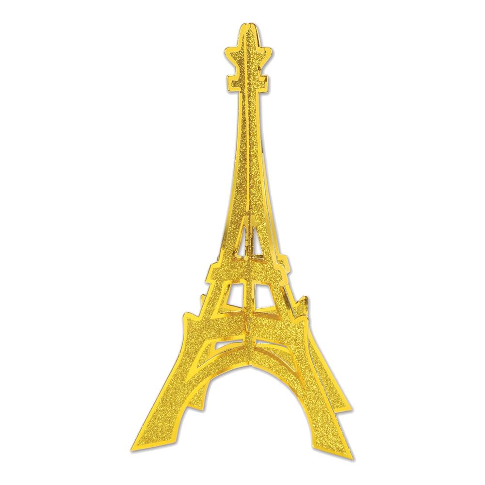 Bordspjäs Eiffeltornet Glittrig