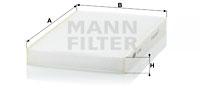 Raitisilmasuodatin MANN-FILTER CU 2952