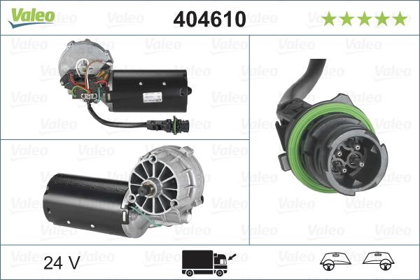 Pyyhkijän moottori VALEO 404610