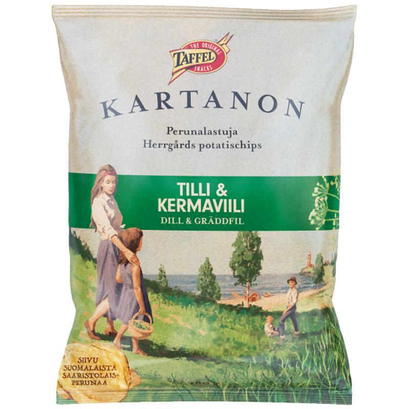 Perunalastut Tilli & Kermaviili 180g - 25% alennus