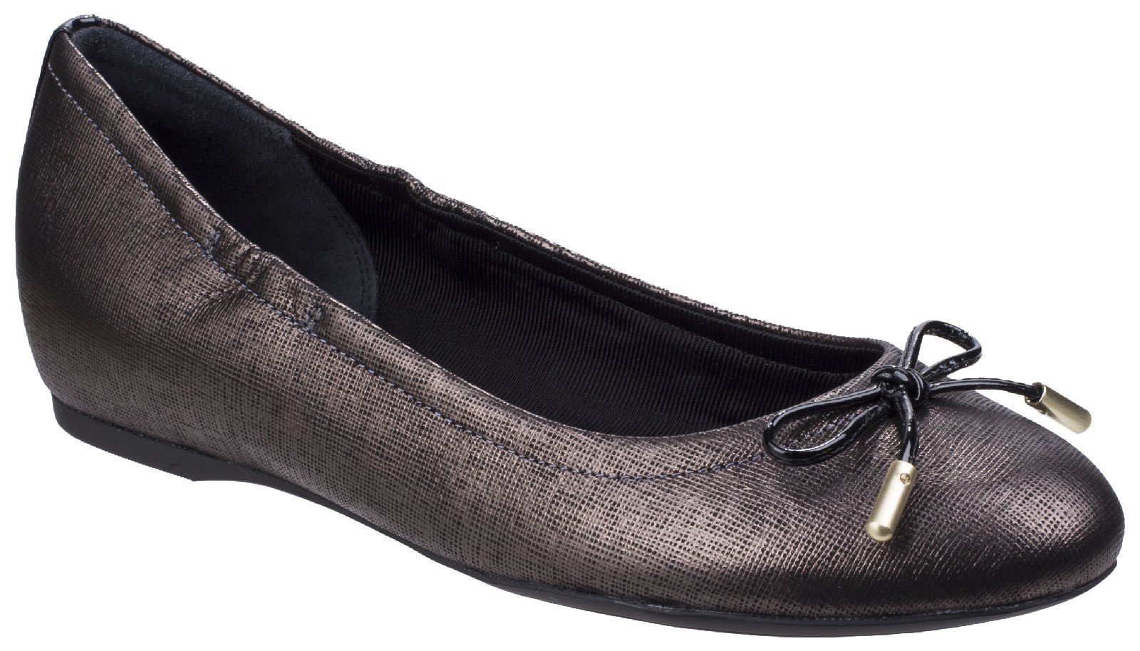 Rockport Women's Tied Ballet Flats Various Colours 26799 - Onyx 4