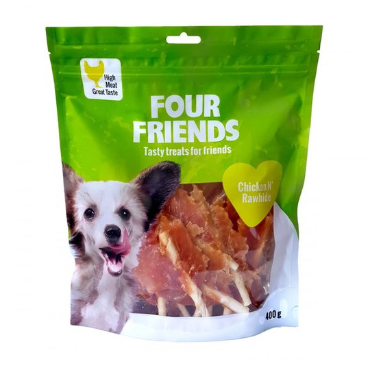 FourFriends Dog Chicken N' Rawhide 400 g