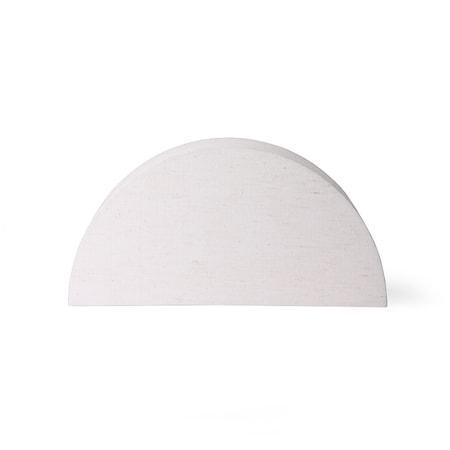 Semicircle Lampskärm L Natural jute