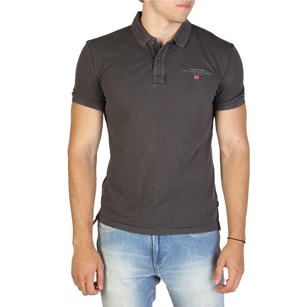Napapijri Men's Polo Shirt Various Colours ELBAS3_NP0A4EGC - grey S